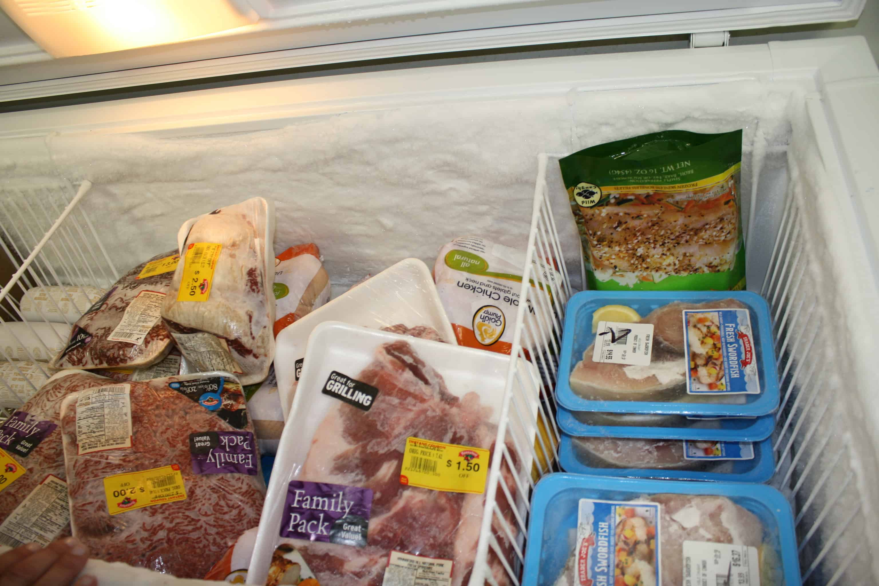 We provide a variety of frozen protein (beef, chicken, fish, etc.) selections for you to choose from.
