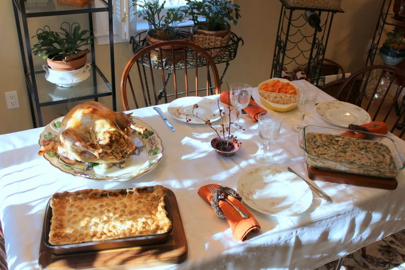 Vicki's Thanksgiving Dinner made possible by donors like you.