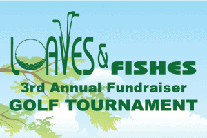 3rd annual golf tournament logo