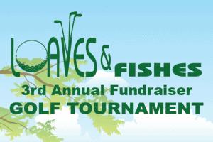 3rd annual golf tournament logo