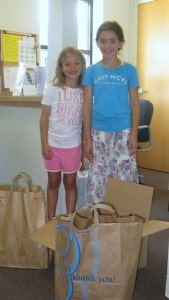 Abigail & Clara Ames (Clara 7 yr old bday party donations)