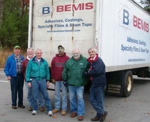 Bemis volunteers