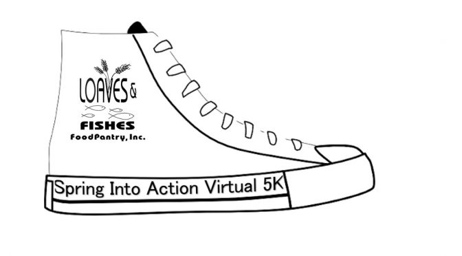 Loaves & Fishes Spring Into Action Virtual 5K