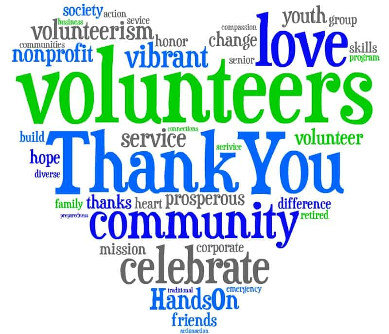 APRIL IS NATIONAL VOLUNTEER APPRECIATION MONTH! - Loaves & Fishes